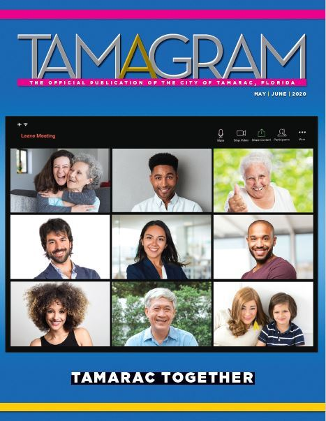 Cover image for the May June 2020 Tam-A-Gram