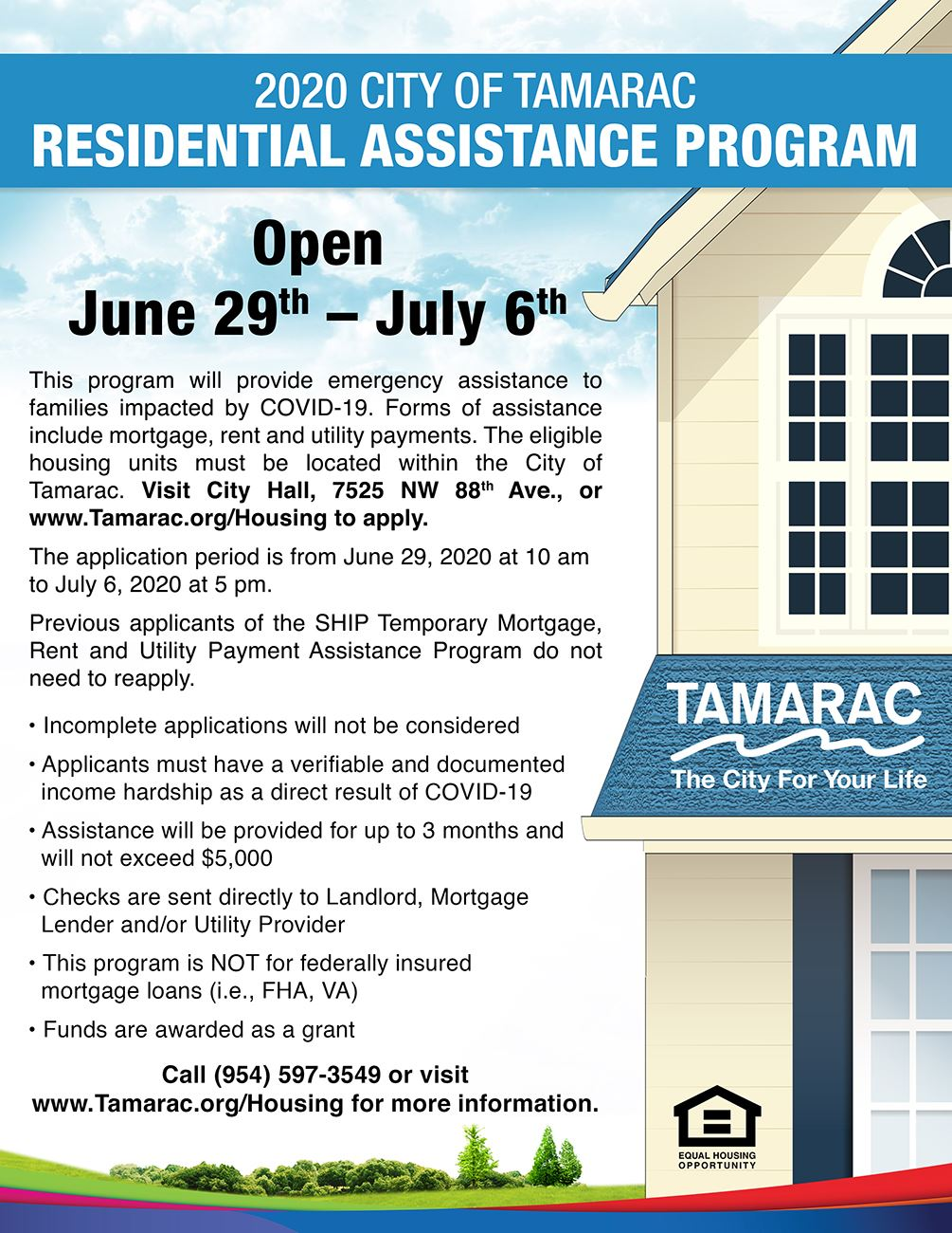 Residential Assistance Program V2